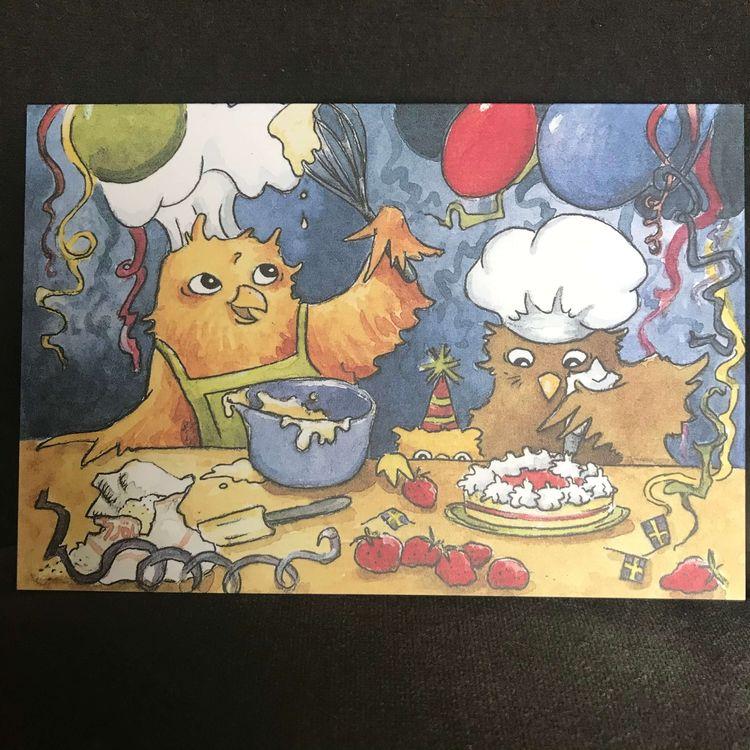 Dubbelt kort -Baka födelsedagstårta (Fraktfritt)