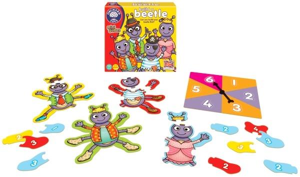 Spel från Orchard toys - Bygg en insekt