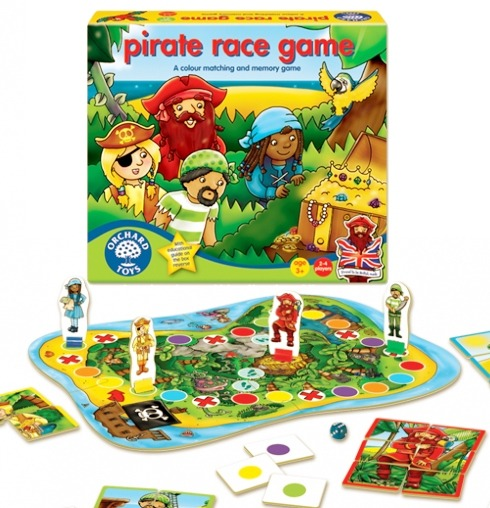 Piratspelet (Pirate Race Game)