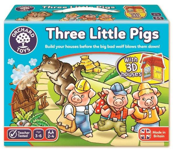 Tre små grisar (three little pigs)