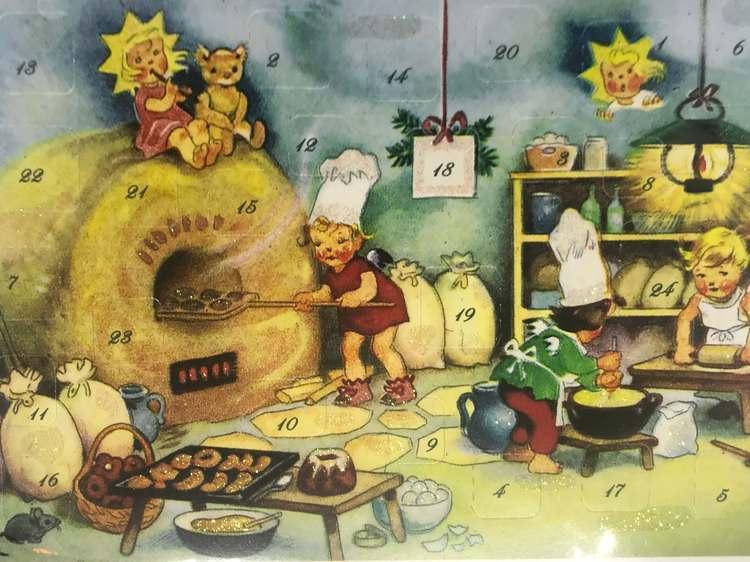 Små Adventskalendrar som jukort - Massor att välja bland (Fraktfritt)