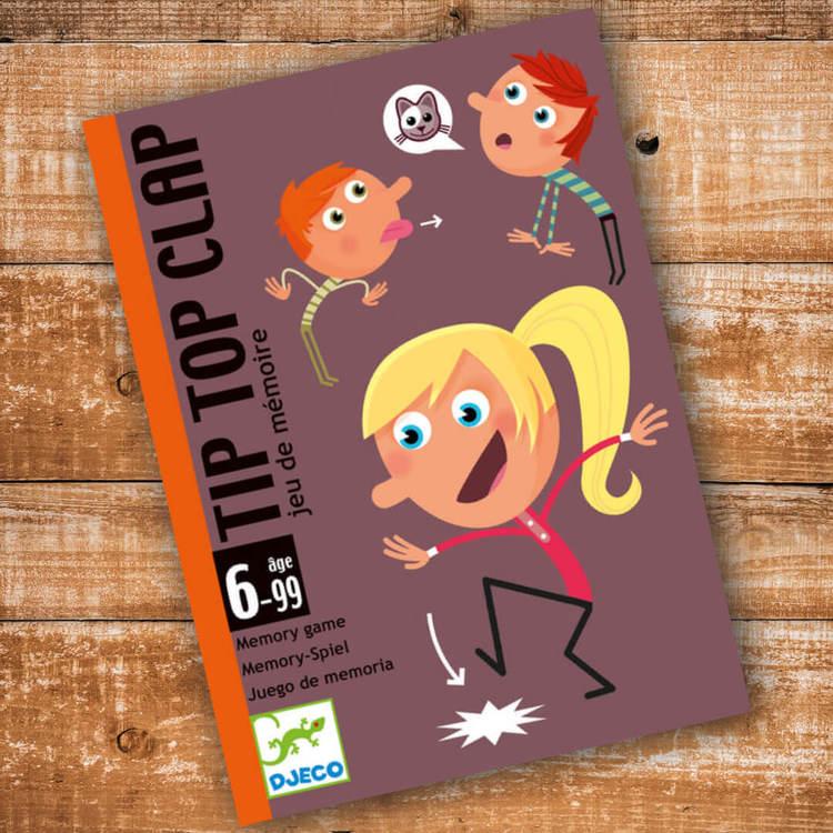 Tip Top Card - Spelet där du slipper sitta still från Djeco