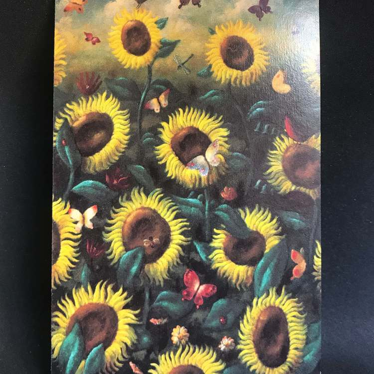 Dubbla kort utan kuvert - Blommor och träd, många att välja bland (Fraktfritt)