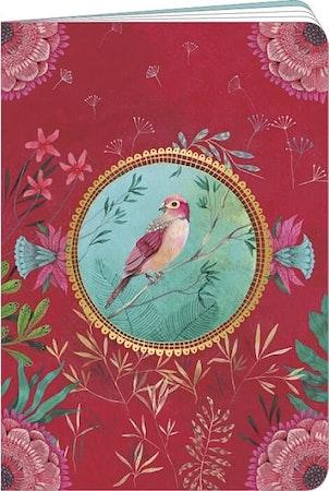 Anteckningsbok - Lilla röda fågel