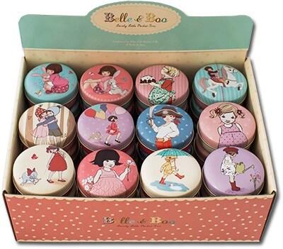 Små vackra burkar med Belle & Boo