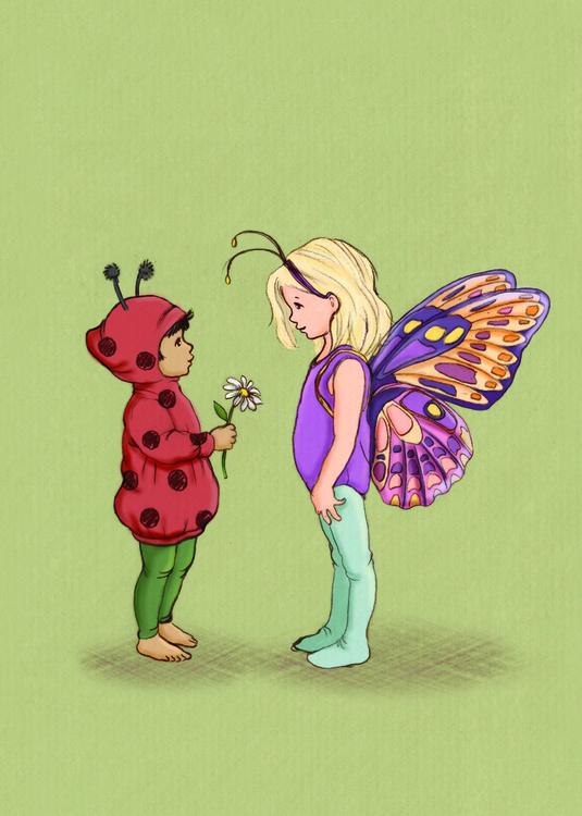 Enkelt Kort - Insektsvänner (Fraktfritt)