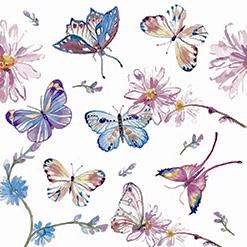 Kaffeservetter - Fjärilar