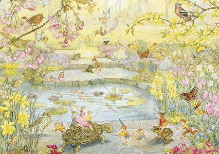 Enkelt Kort - Den hemlighetsfulla trädgården (Fraktfritt)