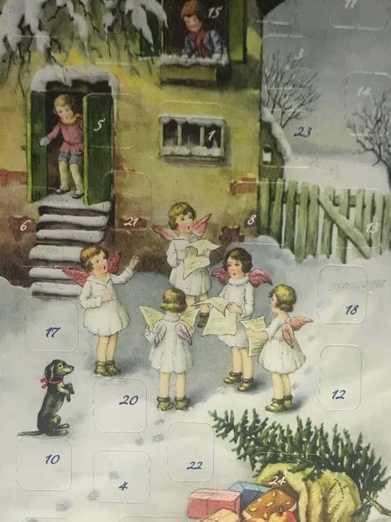 Små Adventskalendrar Julkortstorlek - Massor att välja bland (Fraktfritt)