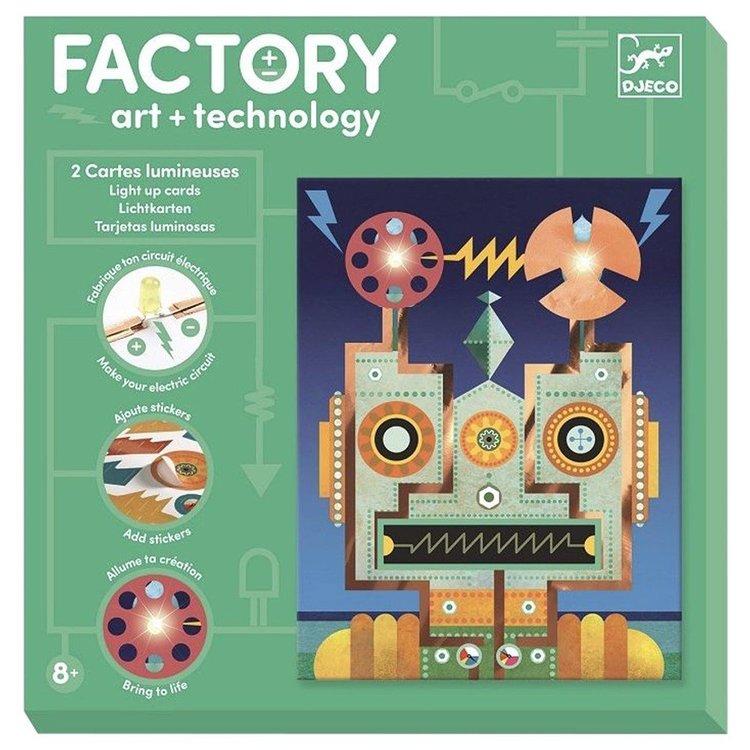 Robotar - Skapa elektroniska konstverk från Djeco