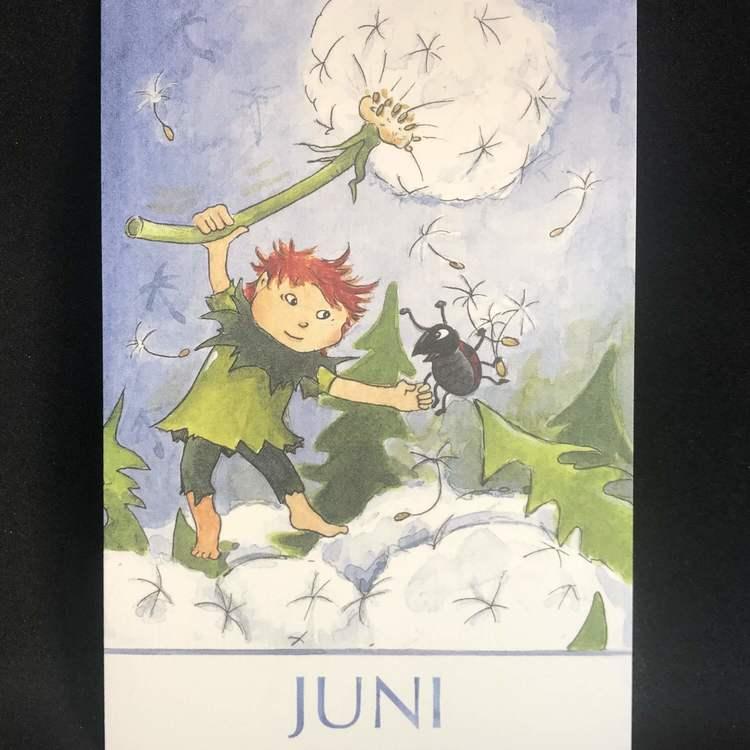 Dubbla kort utan kuvert - Månadskort att välja bland (Fraktfritt)