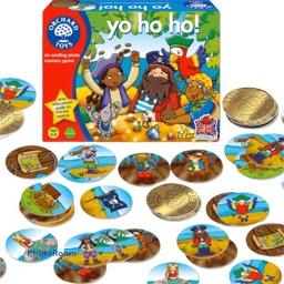 Yo Ho Ho (Piratspel) från Orchard Toys