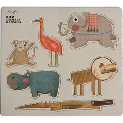 Magneter - Vilda cirkusdjur från Londji