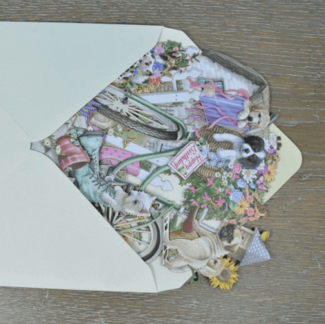 Magiska gratulationskort - Hundvalpar (Fraktfritt)