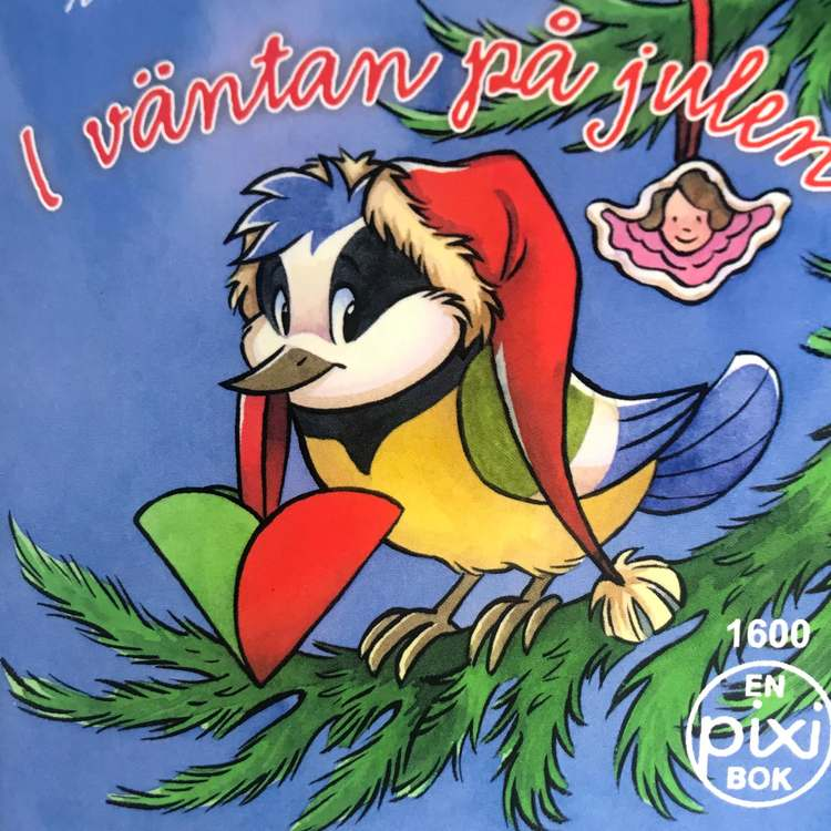 Pixiböcker med jultema - Flera att välja på (Fraktfritt)