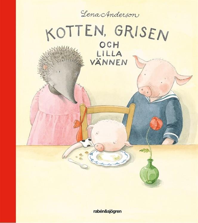 Kotten, grisen och lilla vännen