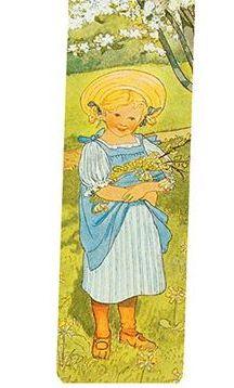 Vackert bokmärke - Majas visa (Fraktfritt)