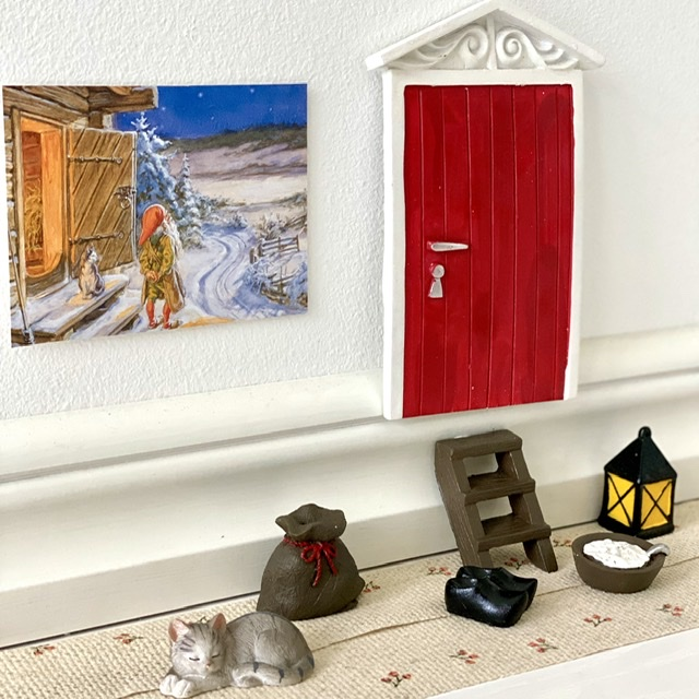 Fin dörr och tillbehör till Nisse
