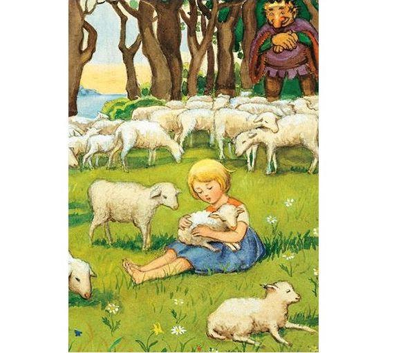 Enkelt Kort - Resan till landet Längesen - Lammen (Fraktfritt)