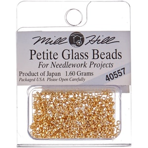 Petite Glass Beads (1.5 mm) - Broderikorgen