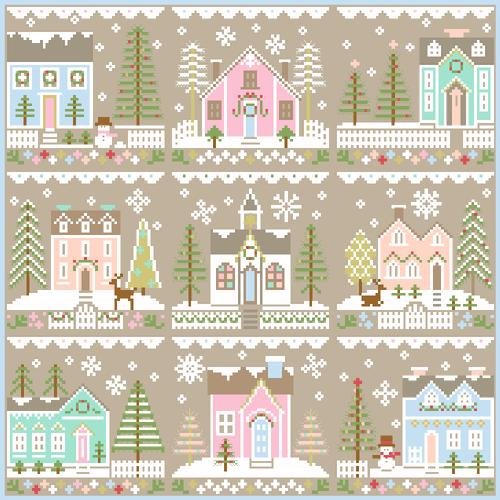 Glitter House 6 - Country Cottage Needleworks