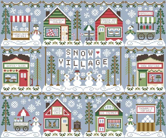 Ice Creamery - Country Cottage Needleworks