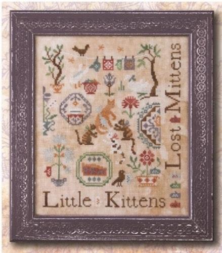 Ink. Circles - Tree Little Kittens