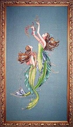 Mirabilia Mermaids Of The Deep Blue