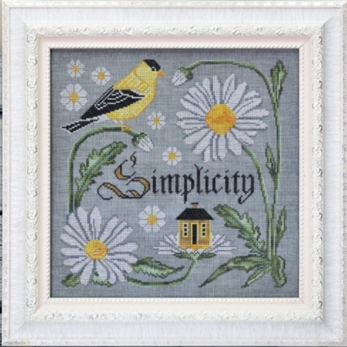 There is beauty in simplicity  (9/12) - Songbird's Garden Series