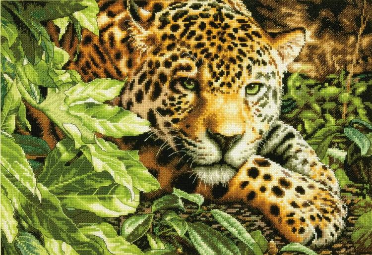 Dimensions Gold  - Leopard In Repose