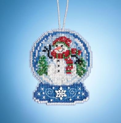 Mill Hill - Snowman Globe