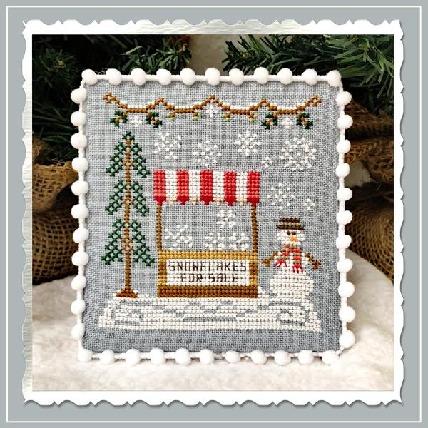 Snowflake Stand - Country Cottage Needleworks