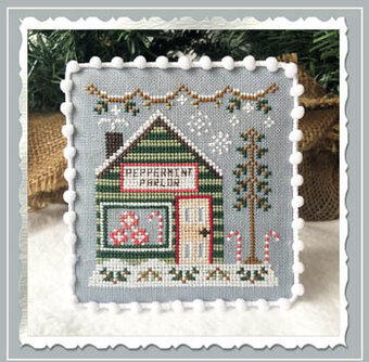 Peppermint Parlor - Country Cottage Needleworks