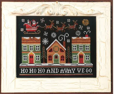 Away We Go - Country Cottage Needleworks