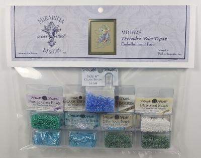 Embellishment Pack December Blue Topaz