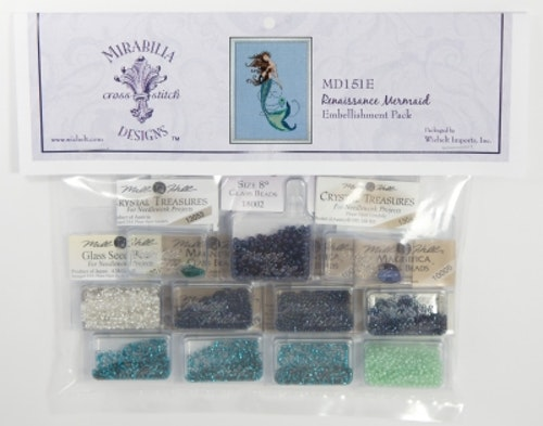 Embellishment Pack Renaissance Mermaid