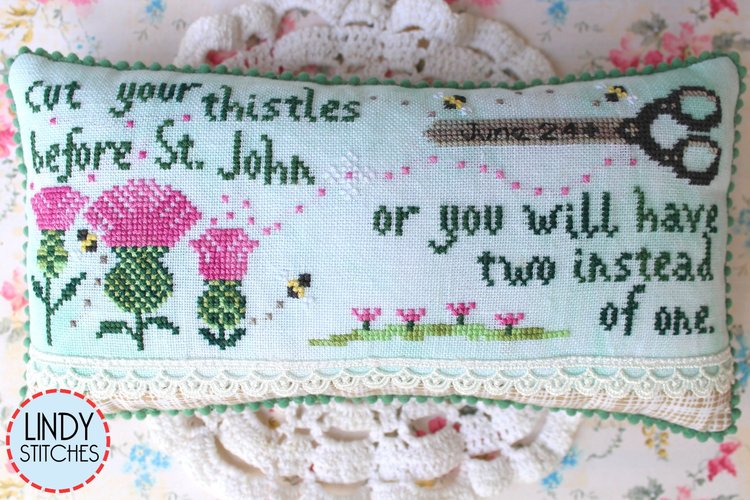 Cut Your Thistles - Lindy Stitches