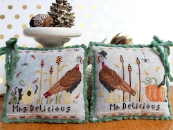 Mr & Mrs Delicious - Lindy Stitches