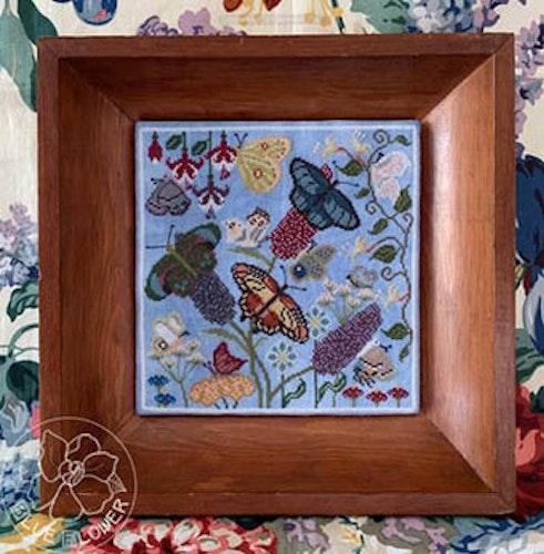 The Blue Flower - Butterfly Garden