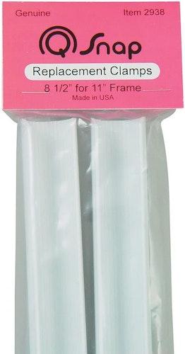 """Klämmor 2-pack till Q-snap 11"""" (28 cm)"""