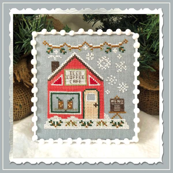Iced Coffee Cafe - Country Cottage Needleworks
