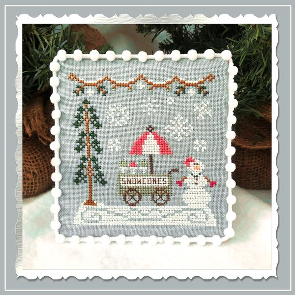 Snow Cone Cart - Country Cottage Needleworks