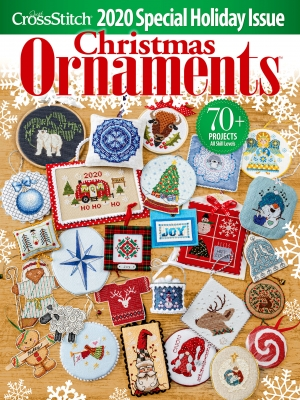 Just Cross Stitch Magazine Christmas Ornaments 2020