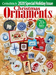 Just Cross Stitch Magazine Christmas Ornaments 2020