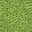 Seed Beads 02066 Crayon Yellow Green