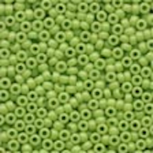 Seed Beads 02066 Crayon Yellow Green