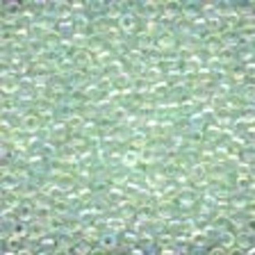 Seed Beads 02016 Crystal Mint