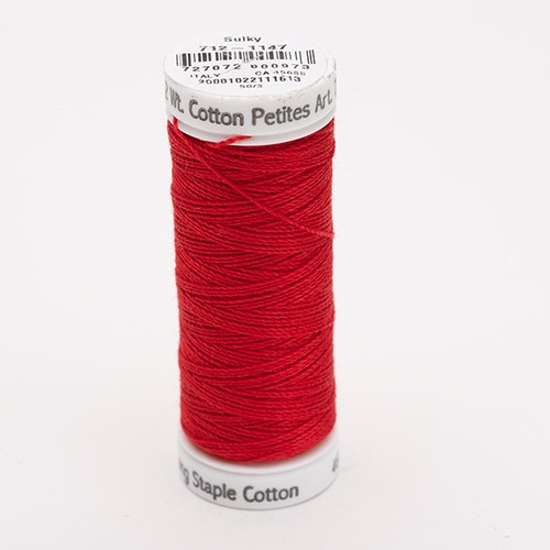 Sulky Petites 1147 CHRISTMAS RED