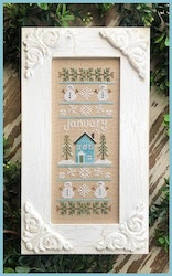 January Sampler - Country Cottage Needleworks