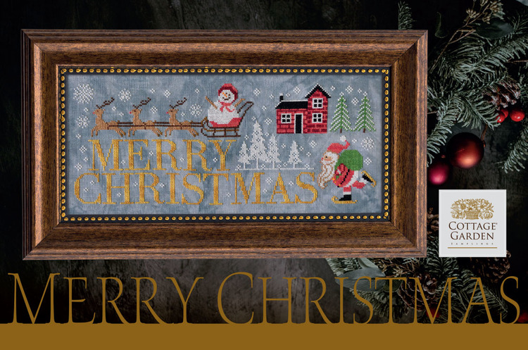 Merry Christmas - Cottage Garden Samplings